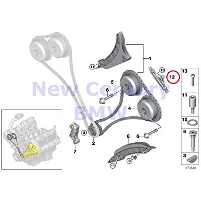 Genuine BMW E70 E70N E71 E72 F01 F02 F03 F03N F04 Slide rail OEM 11317565242: Automotive