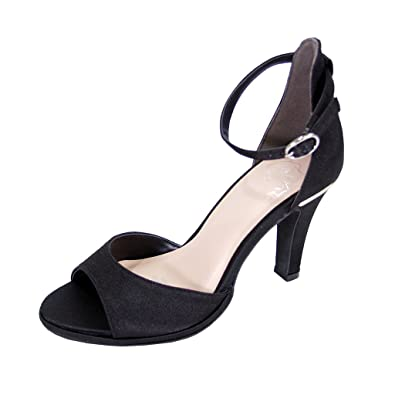 04dce71b138d Floral Maxine Women Wide Width Open Toe D Orsay Dress Sandal Black 5