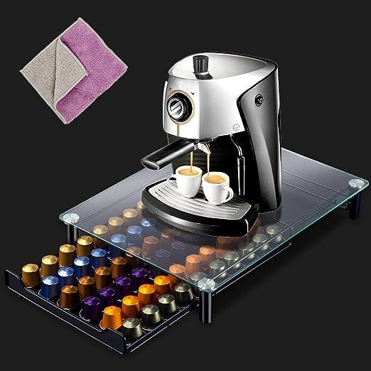 Masthome Nespresso Soporte para Cápsulas de Café y Cajón de ...