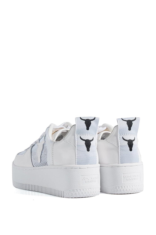 hot sale online 89e97 41014 Windsor Smith RacerMesh White Sneakers - Scarpe da ...