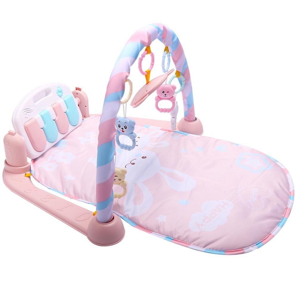mit Musik und Licht Fitness Rahmen Klavier Spiel Gym Toy spielen f/ür 0-1Jahre Baby Piano-Gym Baby Spielbogen