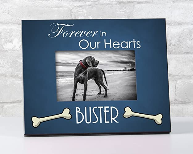 Amazoncom Forever In Our Hearts Picture Frame Pet Loss Memorial