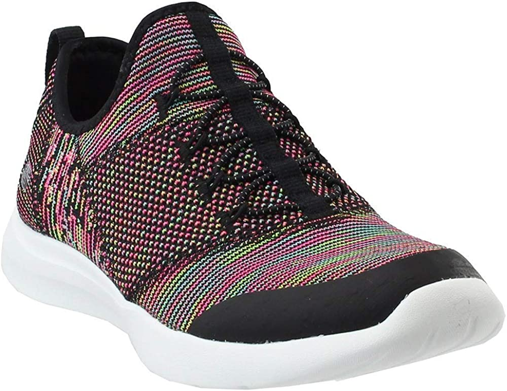 Skechers Studio Comfort Mix and Match Womens Slip On Sneakers Black/Multi