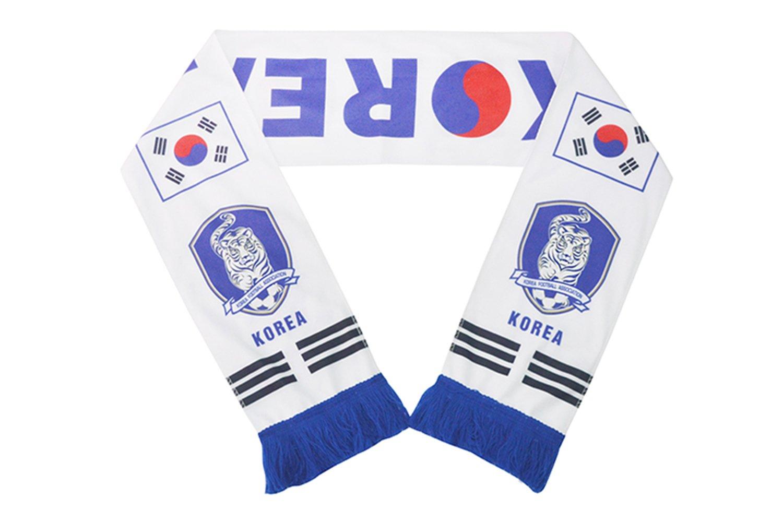 wifornt 2018ワールドカップファン両面サッカーニットスカーフスティックフラグファンネッカチーフのバー、スポーツイベント、フェスティバルイベントお祝い B07CXN471X 160 cm x 18 cm|South Korea South Korea 160 cm x 18 cm