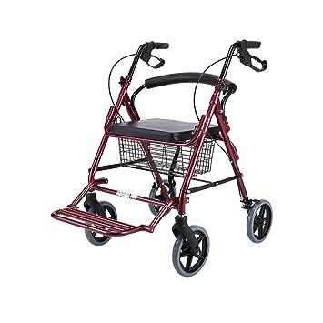 Walkers Rollators para ancianos andadores plegable portátil ...