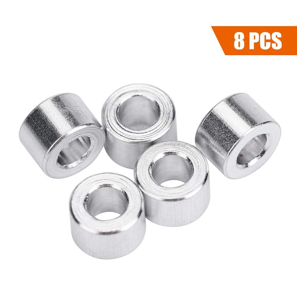8PCS Shock Absorber Spacer Aluminium Alloy Damper Spacer Washer Remote Control Part Accessory