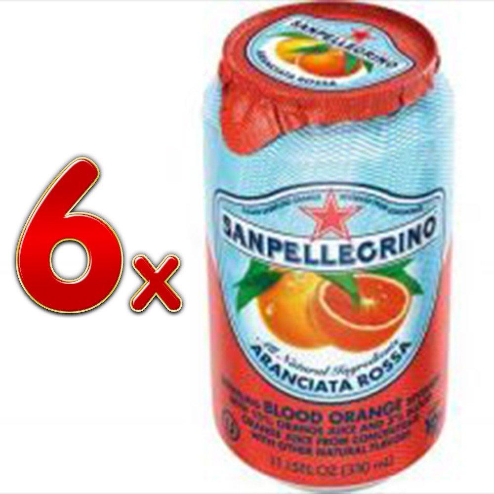 San Pellegrino De Naranja Sanguina 6 X 330 Ml: Amazon.es ...