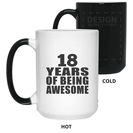 Birthday Gift Idea 18th 18 Years Of Being Awesome