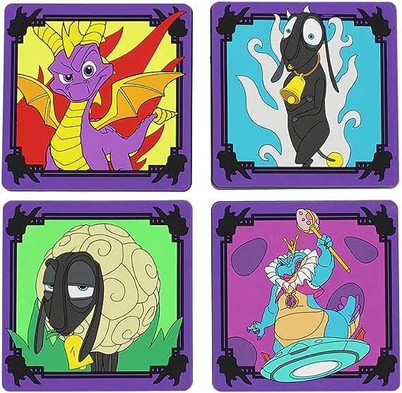 Spyro Coasters (4 unidades): Amazon.es: Videojuegos