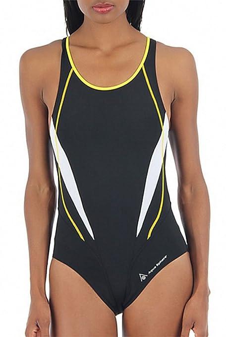 9f7f45e78f Amazon.com   Aqua Sphere Women s Camelia Swimsuits   Athletic One ...
