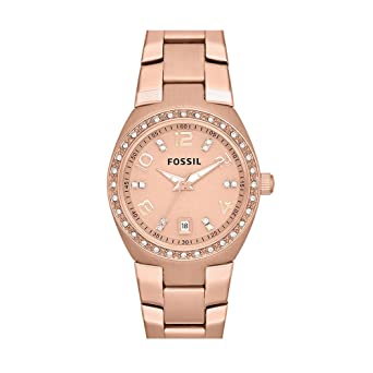 Reloj fossil mujer rose gold
