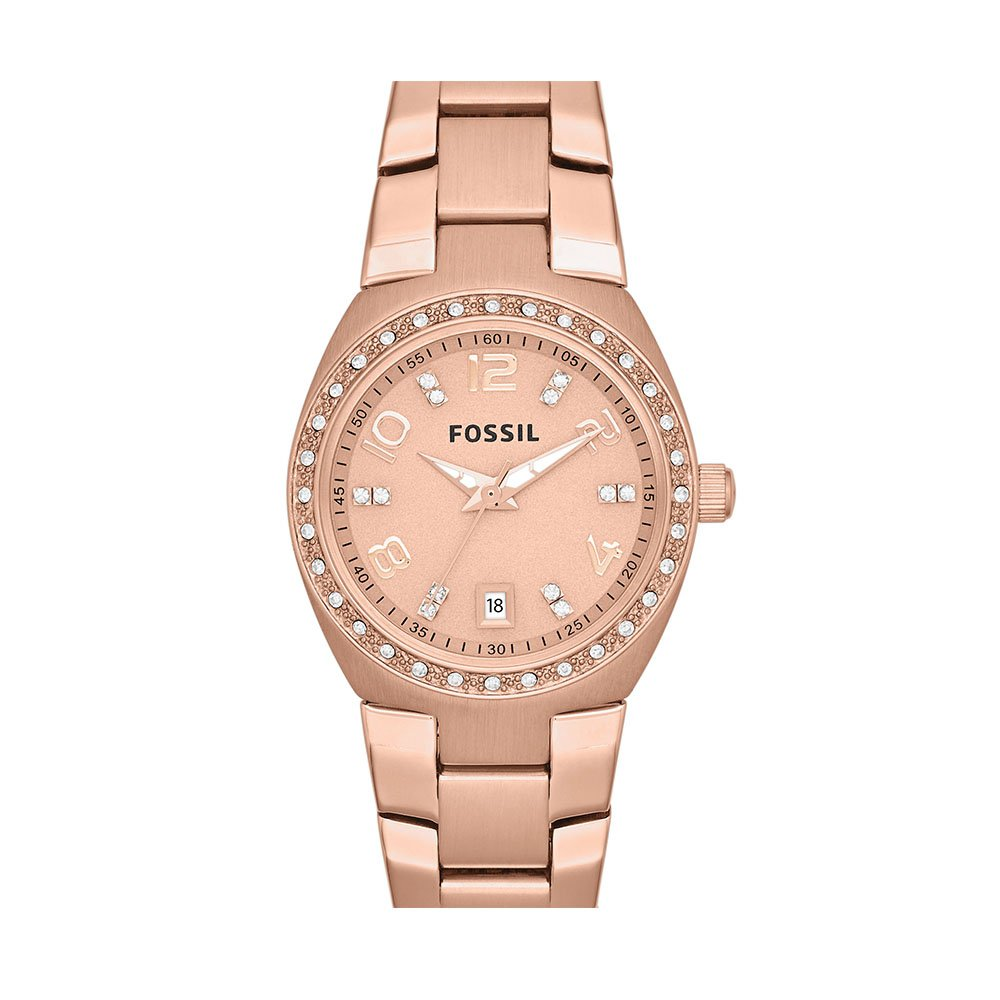 Fossil Women's AM4508 Serena Rose Gold-Tone Stainless Steel Watch