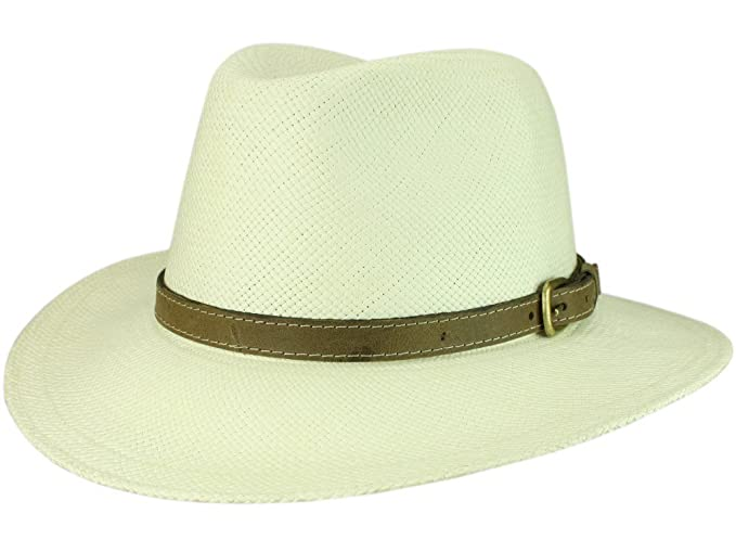 Bigalli Discovery - Sombrero Traveller para hombre - blanco ad05a7655a9