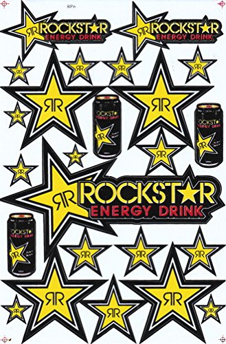 Rockstar Energy Sticker Car Racing Motorcross Decal Motorcycle Truck Graphic Logo Bicycle Bike Stickers