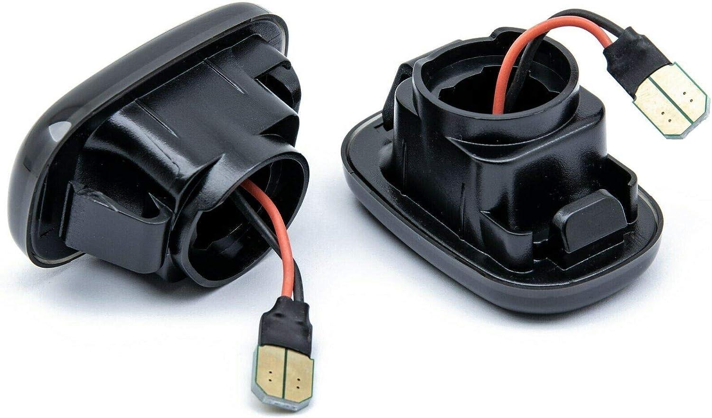 7732-1 rm-style LED Side Indicator Black Smoke