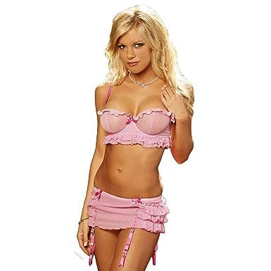 pink-polka-dot-lingerie-emo