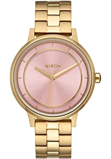 Nixon Womens Kensington Watch Light Gold Pink