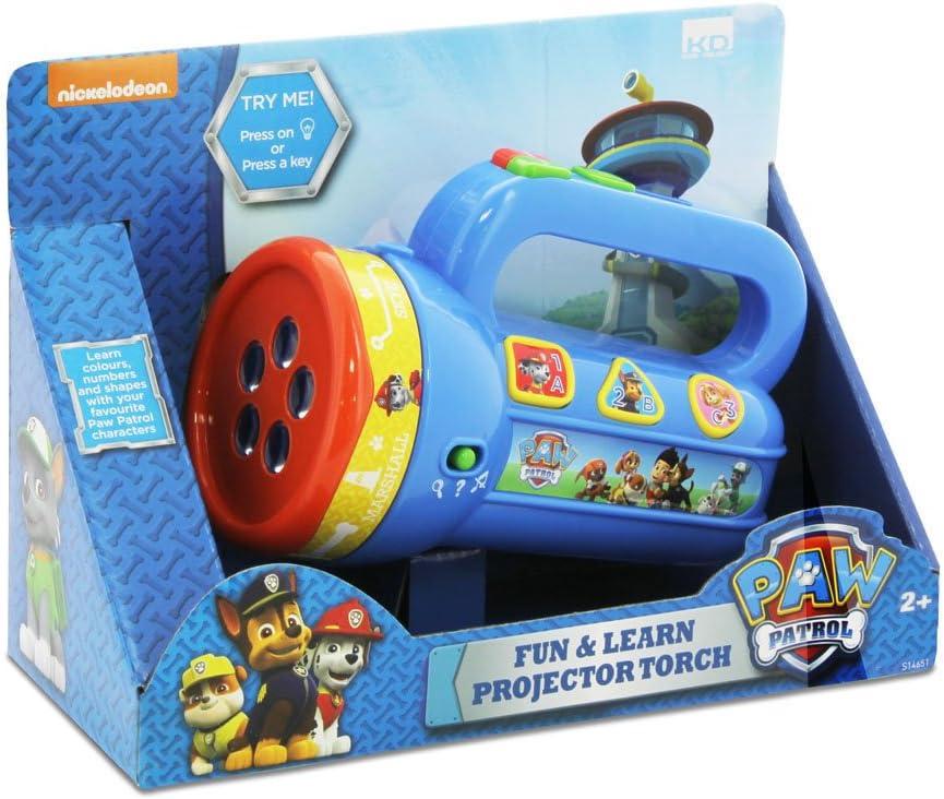 KD Toys Paw Patrol Divertido y aprendido proyector antorcha ...