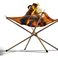 Grillz Firepits Outdoor Portable Fire Pit