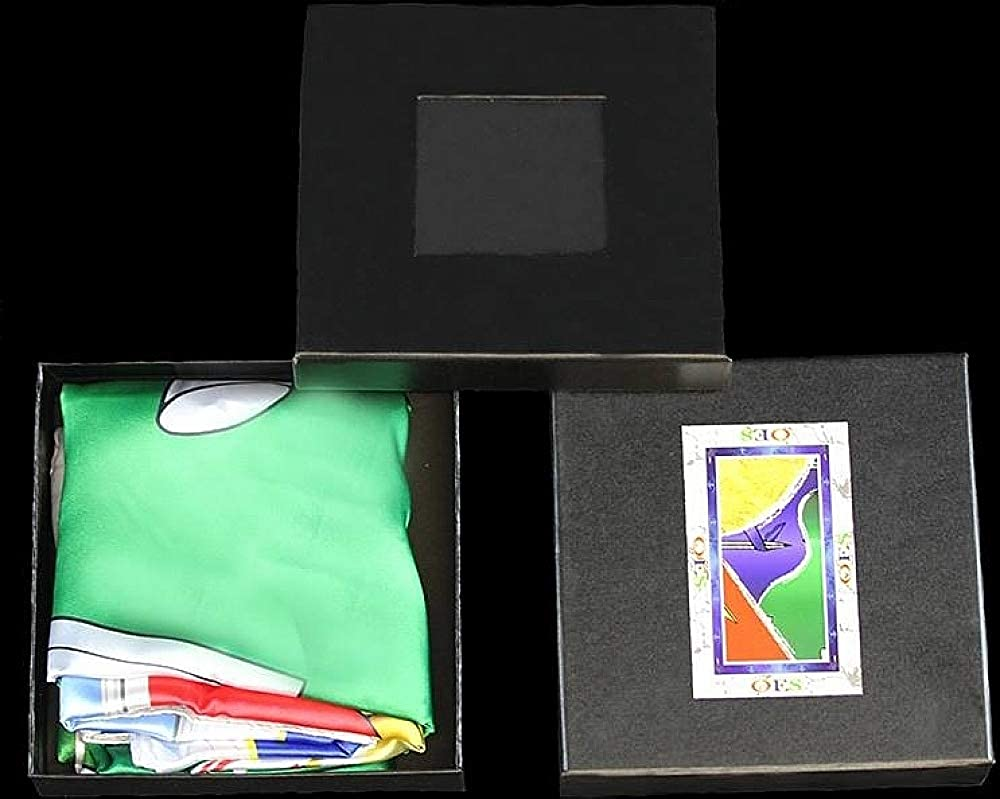 Order of the Eastern Star Satin Scarf w//Box 70 x 44