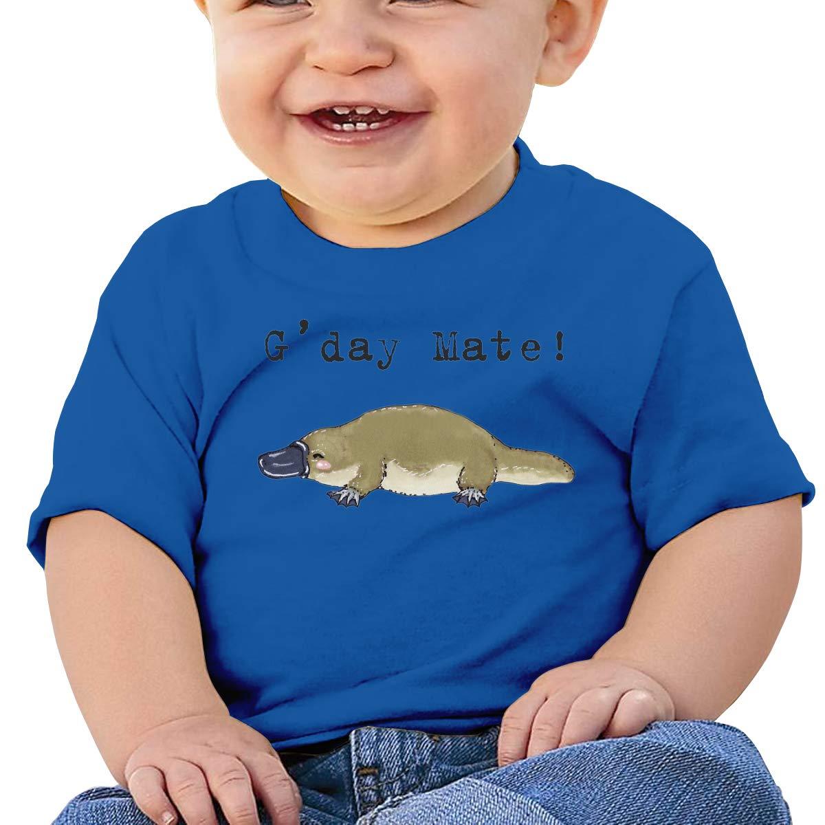 XHX403 Little Platypus Animals Series Infant Kids T Shirt Cotton Tee Toddler Baby 6-18M