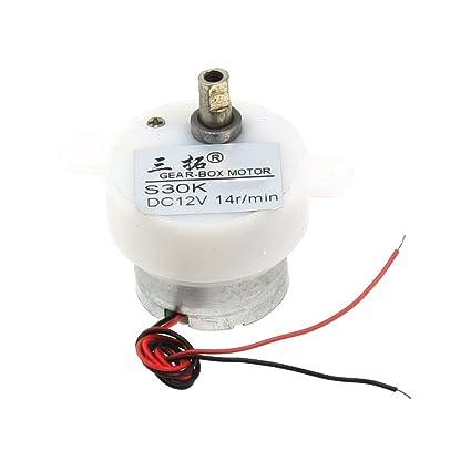 14 rpm 12v motor - Generico 14 rpm 12v dc motor reductor de velocidad electrica 2