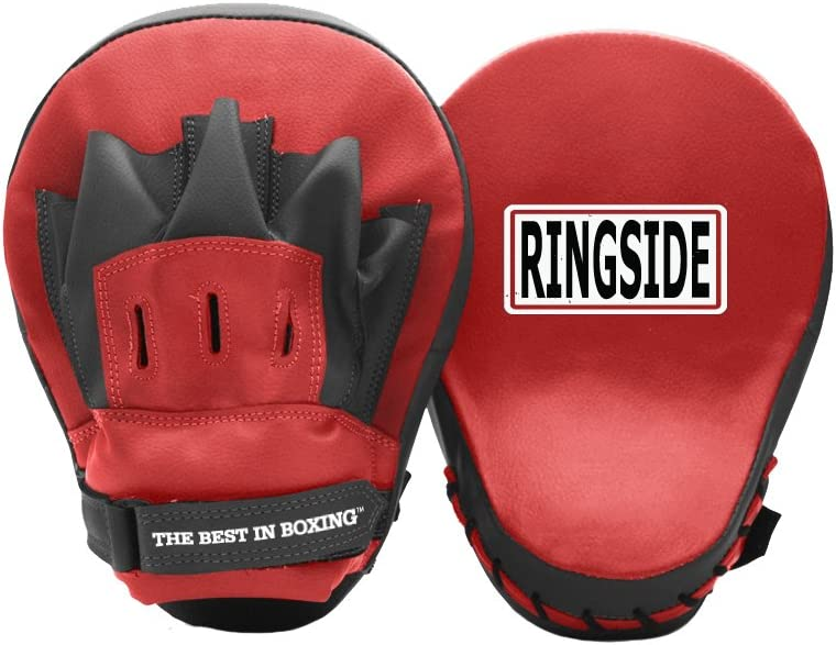 Ringside Curved Boxing MMA Punch Mitts (Pair)