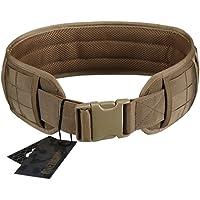 OneTigris Cinturón Molle Táctica Acolchada con Cintura de Protección Nylon 1000D para Combate, Uso al Aire Libre, para…