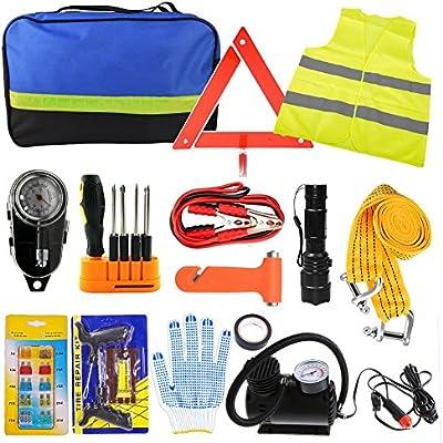 Amazon Com Perry Lee Car Emergency Kit Roadside Assistance Auto