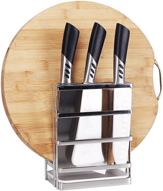 couvercles de casseroles planches /à d/écouper en acier inoxydable Lot de 2 supports de rangement pour assiettes de cuisine plats