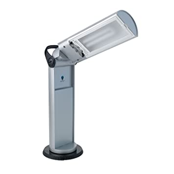 Good Daylight Twist Portable Lamp In White
