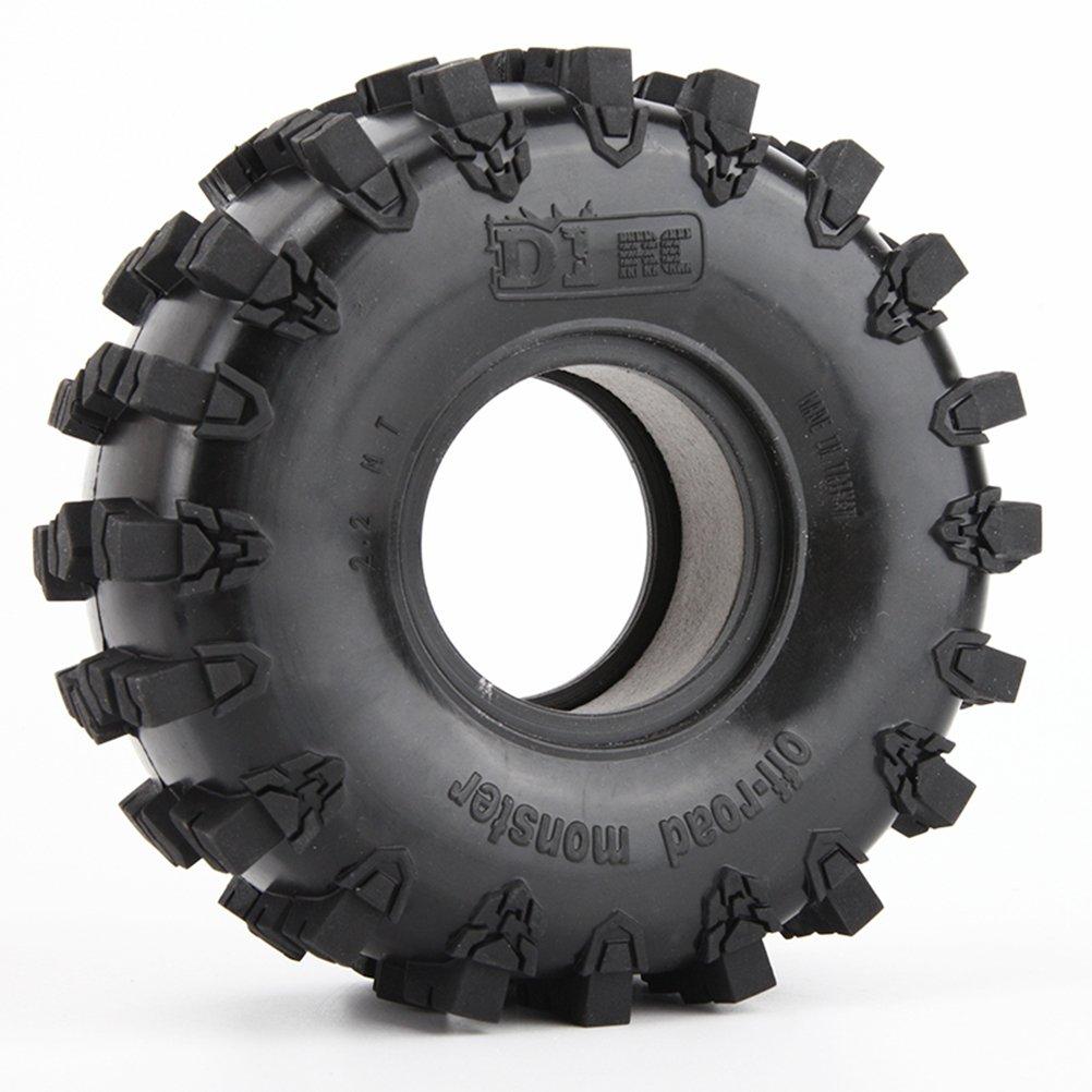 4Pcs 2.2inch Rubber Tires Sponge Liner for Traxxas TRX-4 Trx4 D90 D110 Axial Scx10 90018 90045 90046 90048 RC Crawler Car