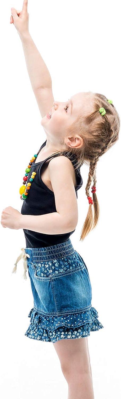 Coobey 5 Pack Toddler Kids Cotton Tank Top Undershirts Boys or Girls Soft Undershirt Tees