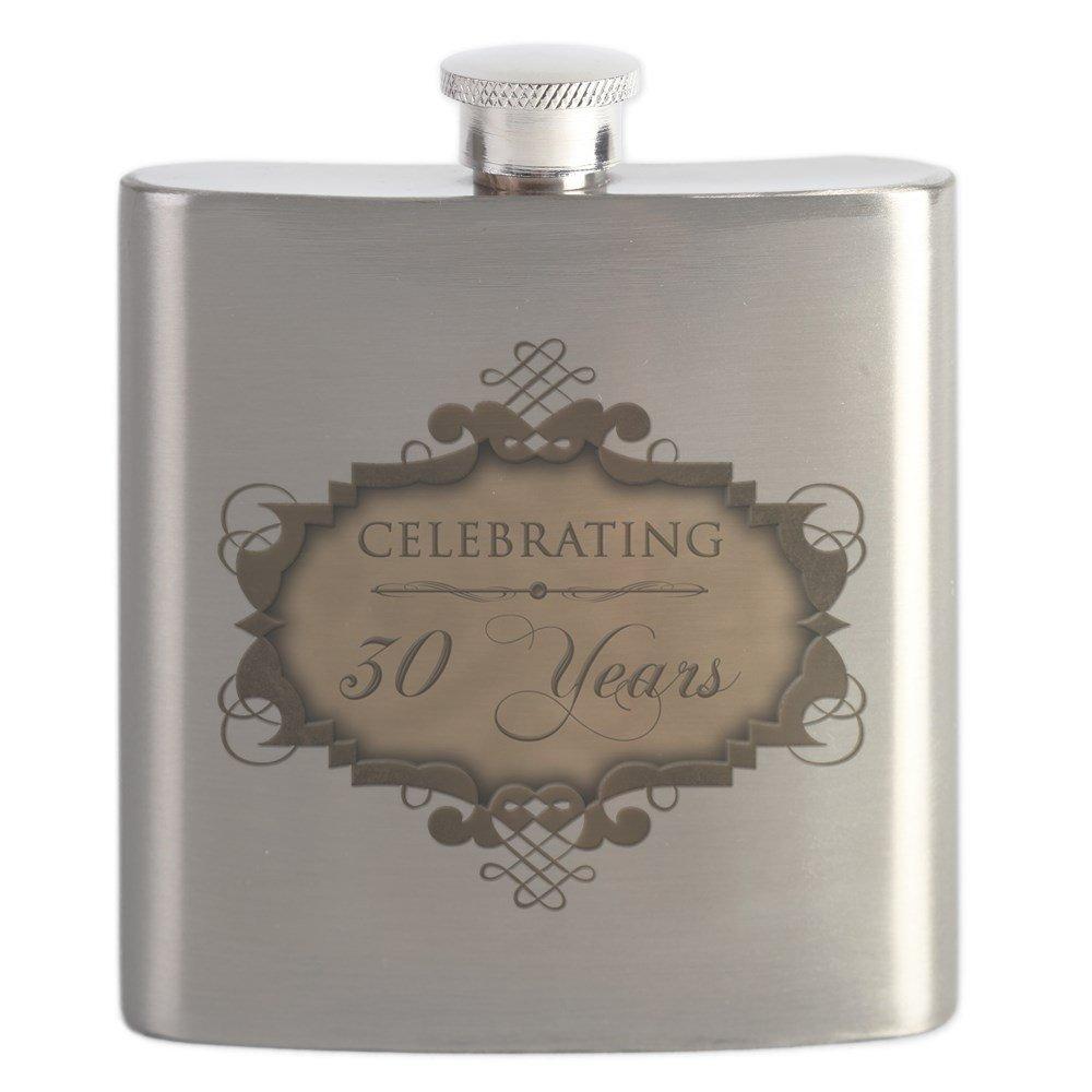 セール特価 CafePress – 30th Wedding Aniversary Wedding ( B01JOQ9KQ0 Rustic ) CafePress – ステンレススチールフラスコ、6オンスDrinkingフラスコ B01JOQ9KQ0, インテリアMORE:c3c2c038 --- a0267596.xsph.ru