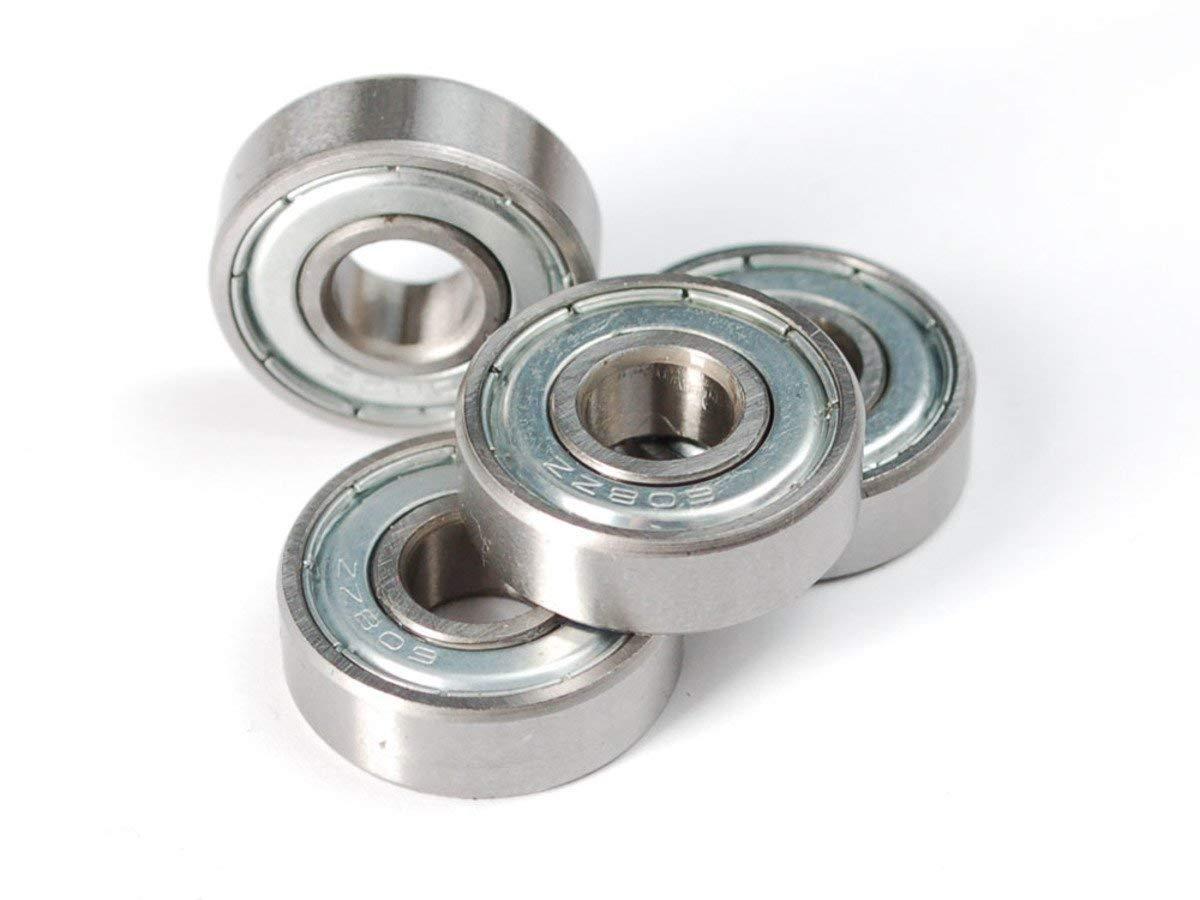 INVENTO 20 piezas 608ZZ 8 x 22 x 7 mm 8 mm Rodamientos radiales ...