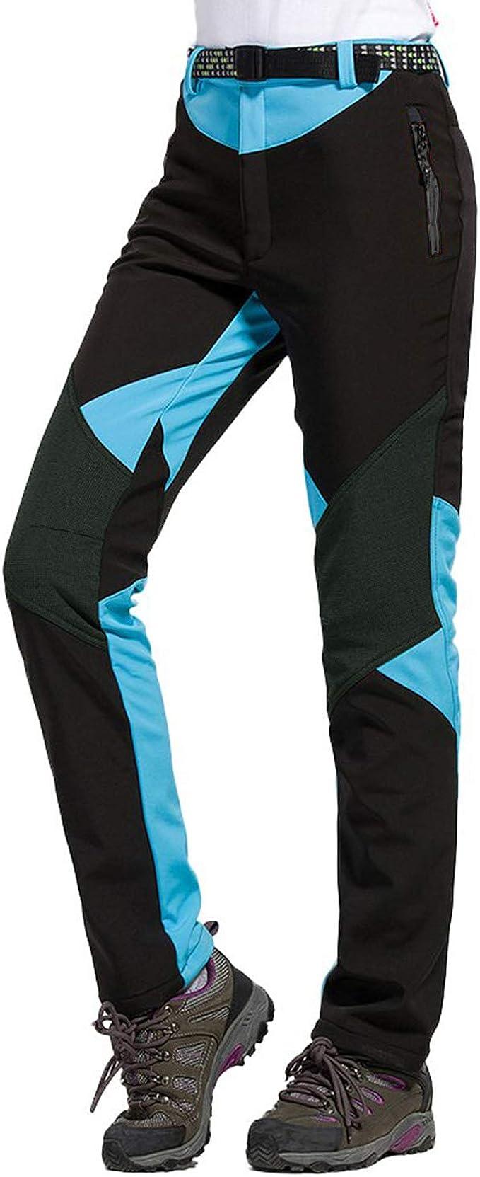LHHMZ Mujeres Pantalones Impermeables de Senderismo Transpirable Ligero Deportes al Aire Libre Secado rápido Pantalones Trekking De Escalada