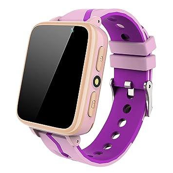 SmartWatch para Niños con Reproductor de Música - Teléfono Reloj para Niños y Niñas [1GB Micro SD Incluido] Llame a la Cámara Linterna Smart Watch ...