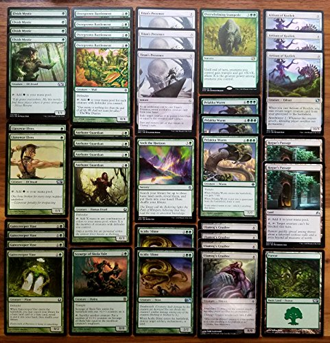 Custom Magic (Magic: The Gathering Modern Ramp and Bomb Green Eldrazi Custom Magic Deck)