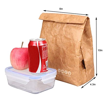bb3c25c07d14 Amazon.com: Lunch Bag Box Cooler Bag Insulated Retro Style Holiday ...
