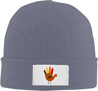 DLOAHJZH-Q Adult Unisex Cute Thanksgiving Turkey Outdoor Knitted Hat