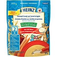Heinz Oat Cereal with Carrot & Apple, 227g (Pack of 6)
