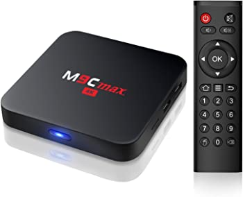 Bqeel M9C max 4K android TV box Unlocked Smart Media Player
