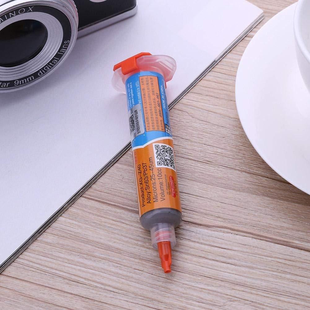 kit de Tournevis de qualit/é sup/érieure avec kit de Levier douverture utiles et durables Li-ly/Kit de r/éparation pour Colle /à souder P/âte de Soudure /à souder Flux XG-Z40 10CC Aiguille pour iPhone