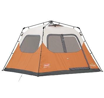 NEW COLEMAN Outdoor C&ing Waterproof 6 Person Instant Tent - 10u0027x9u0027 Foootprint  sc 1 st  Amazon.com & Amazon.com : NEW COLEMAN Outdoor Camping Waterproof 6 Person ...