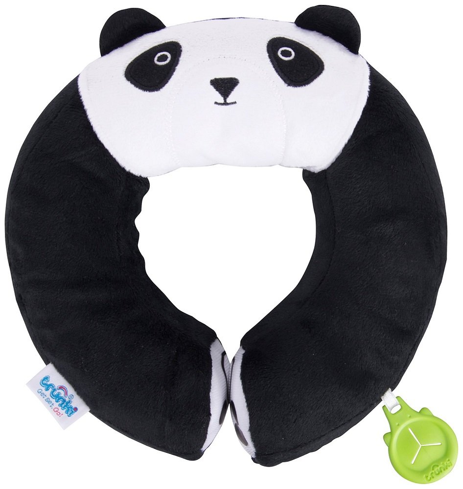 Trunki Kid's Travel Neck Pillow, Black, Yondi Panda 0246-GB01
