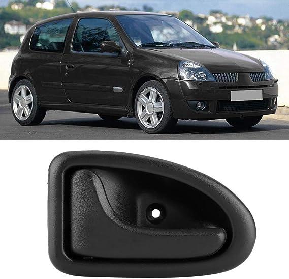 Kongnijiwa Noir Avant Droit Interne Porte int/érieure Remplacement de poign/ée pour Renault Kangoo Twingo 8200247803