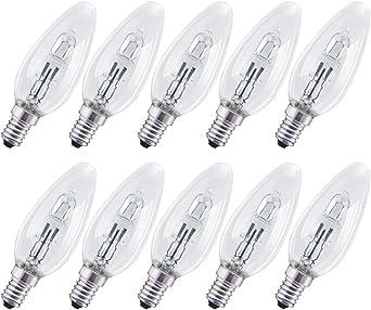 Osram Eco Halogen Leuchtmittel Kerze 64542 B CLA 30W = 40W E14 230V warmweiß dim