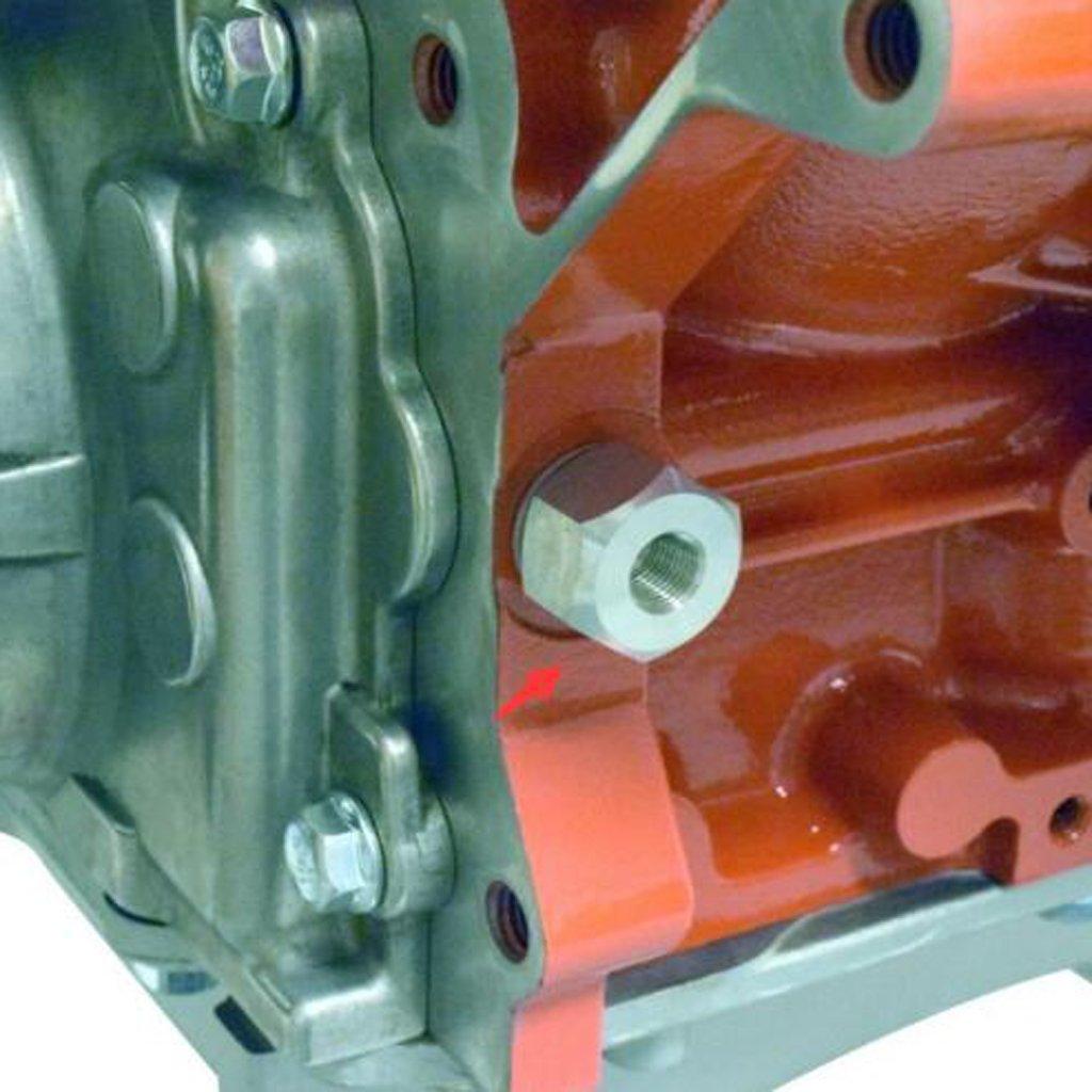 Homyl Adattatore Sensore Pressione Olio Combustibile Accessori di AUto