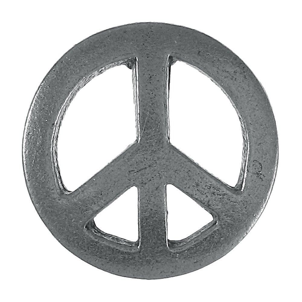 Peace Sign Lapel Pin - 100 Count