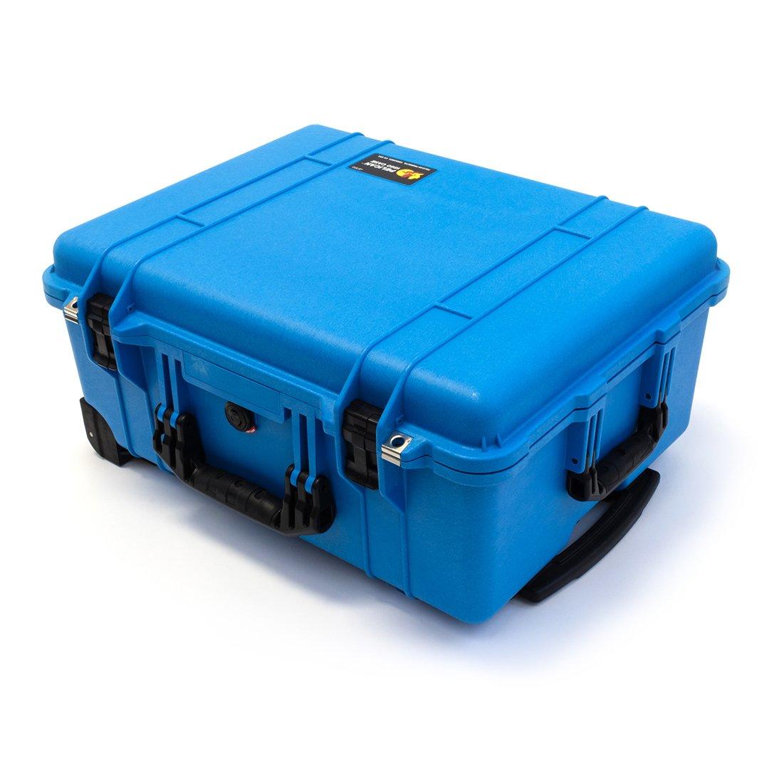 Pelican 1560 Blue & Black Case No foam - empty.